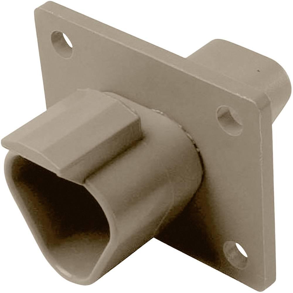 Konektor Deutsch serije DT, DT04-3P-L012, nazivni tok: 13 A, poli: 3, vsebina: 1 kos