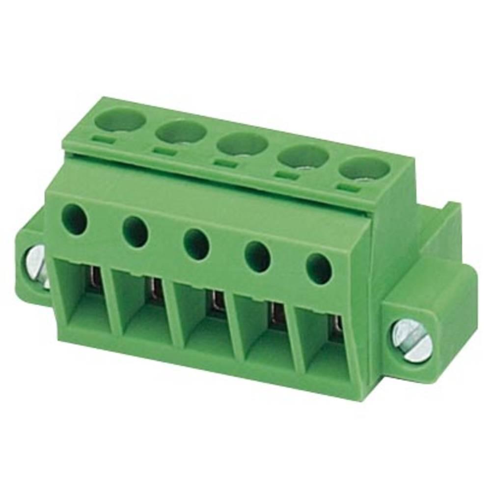 Tilslutningskabinet-kabel MSTBP (value.1360639) Samlet antal poler 5 Phoenix Contact 1879065 Rastermål: 5.08 mm 50 stk