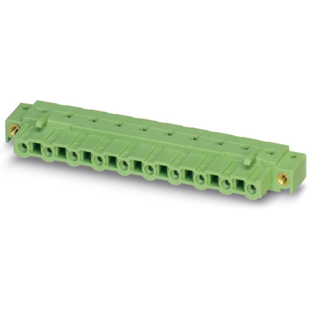 Tilslutningskabinet-printplade GIC (value.1360820) Samlet antal poler 6 Phoenix Contact 1859027 Rastermål: 7.62 mm 50 stk