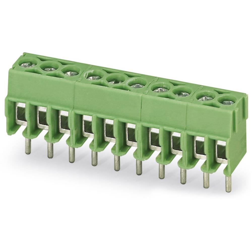 Skrueklemmeblok Phoenix Contact PT 1,5/ 5-3,5-H 1.50 mm² Poltal 5 Grøn 100 stk