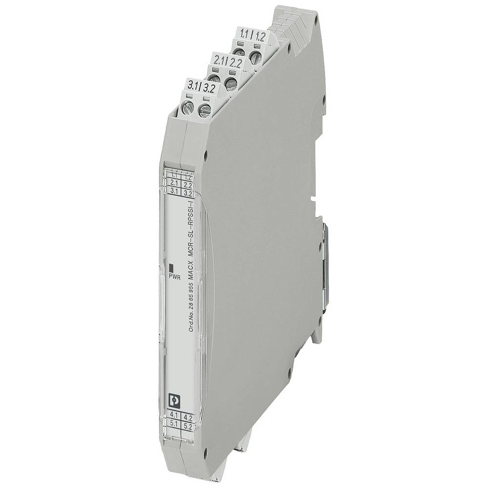 MACX MCR-SL-RPSSI-I - napajalni razdelilnik Phoenix Contact MACX MCR-SL-RPSSI-I kataloška številka 2865955 1 kos