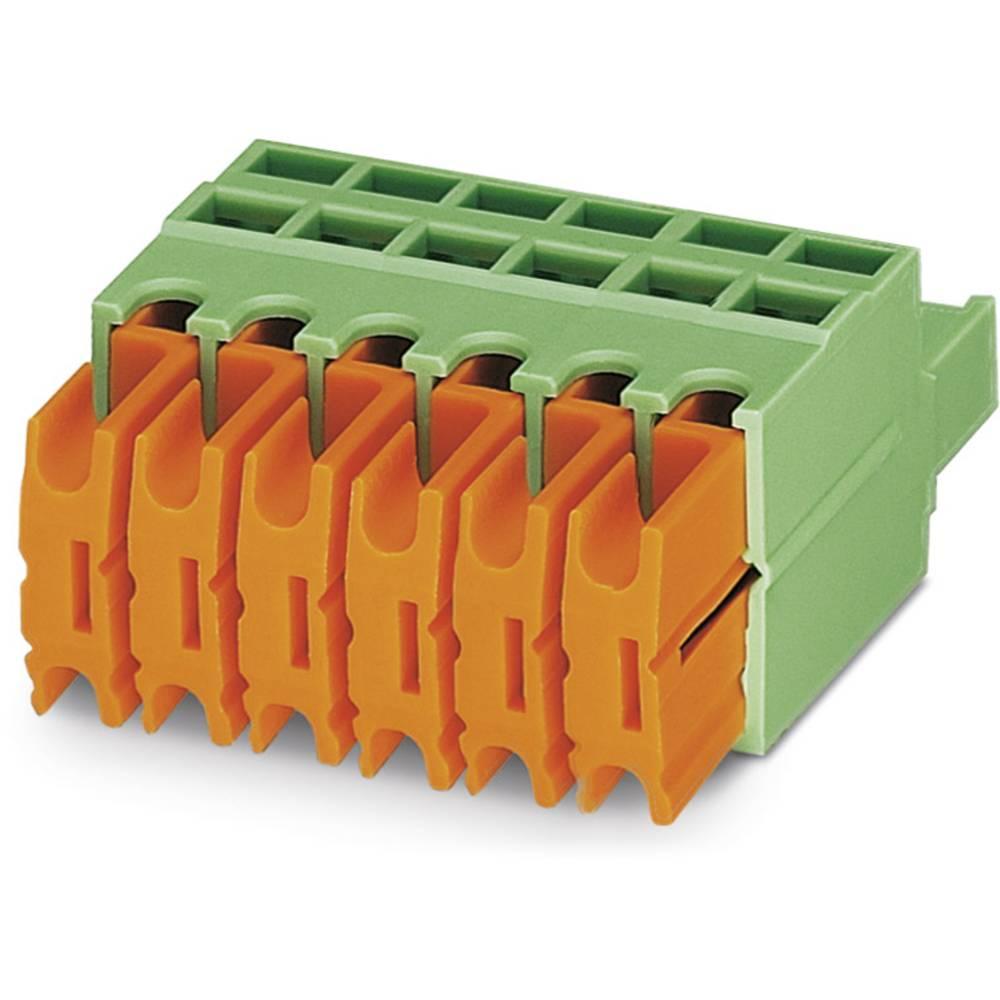 Tilslutningskabinet-kabel QC (value.1360941) Samlet antal poler 5 Phoenix Contact 1921706 Rastermål: 5 mm 50 stk
