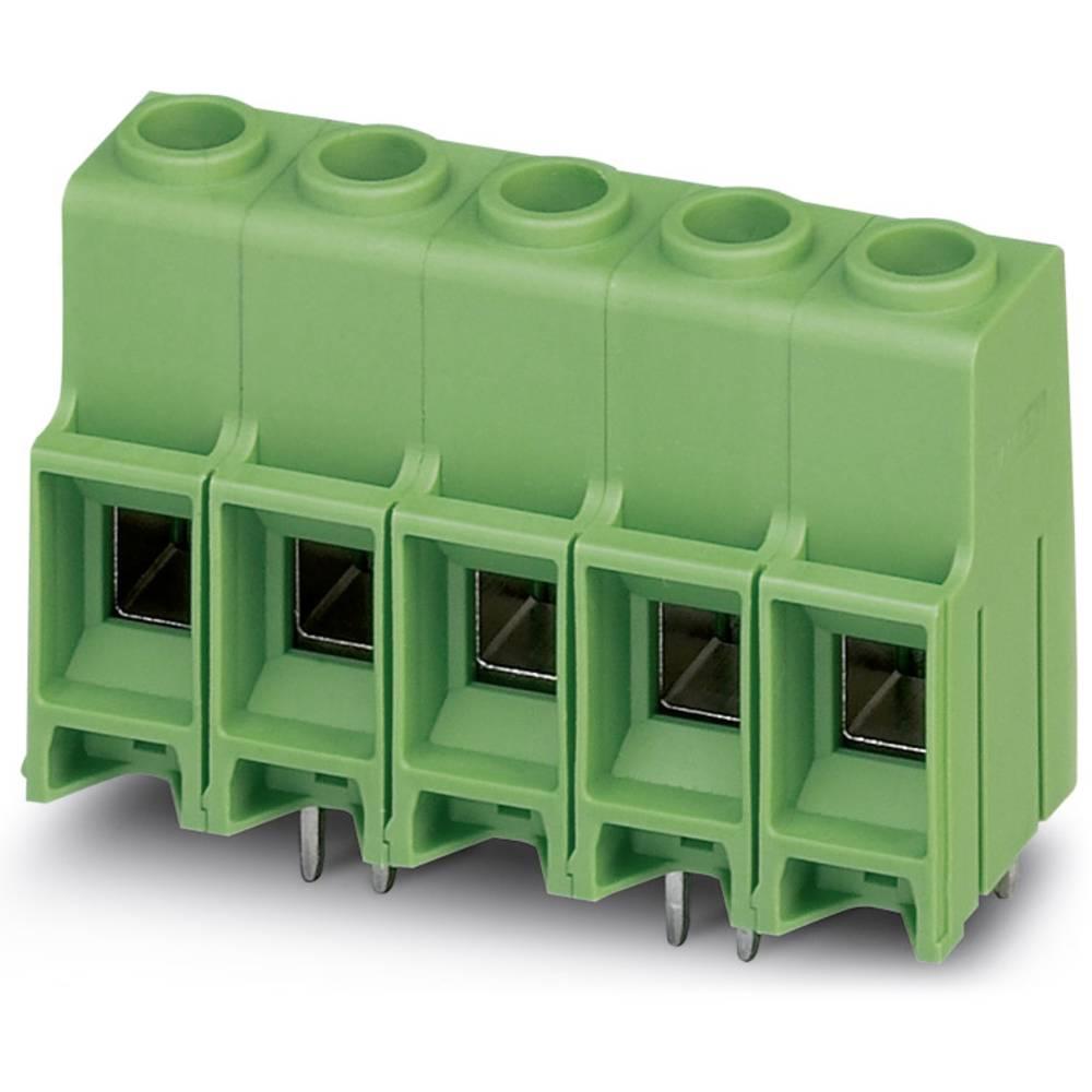 Skrueklemmeblok Phoenix Contact MKDS 10 HV/ 4-ZB-10,16 16.00 mm² Poltal 4 Grøn 50 stk