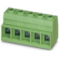 Vijačna priključna sponka 35.00 mm število polov 7 MKDSP 25/ 7-15,00 Phoenix Contact zelene barve 25 kosov