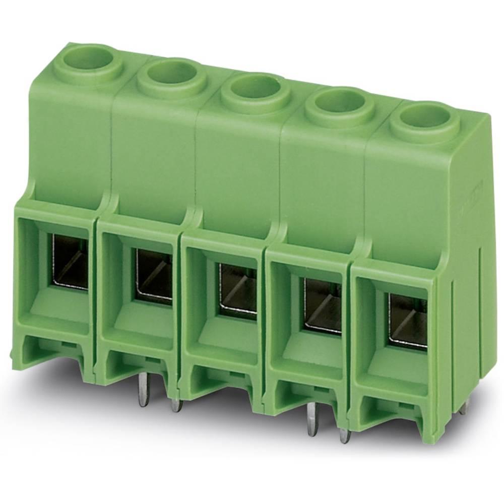 Skrueklemmeblok Phoenix Contact MKDS 10 HV/ 6-ZB-10,16 16.00 mm² Poltal 6 Grøn 50 stk