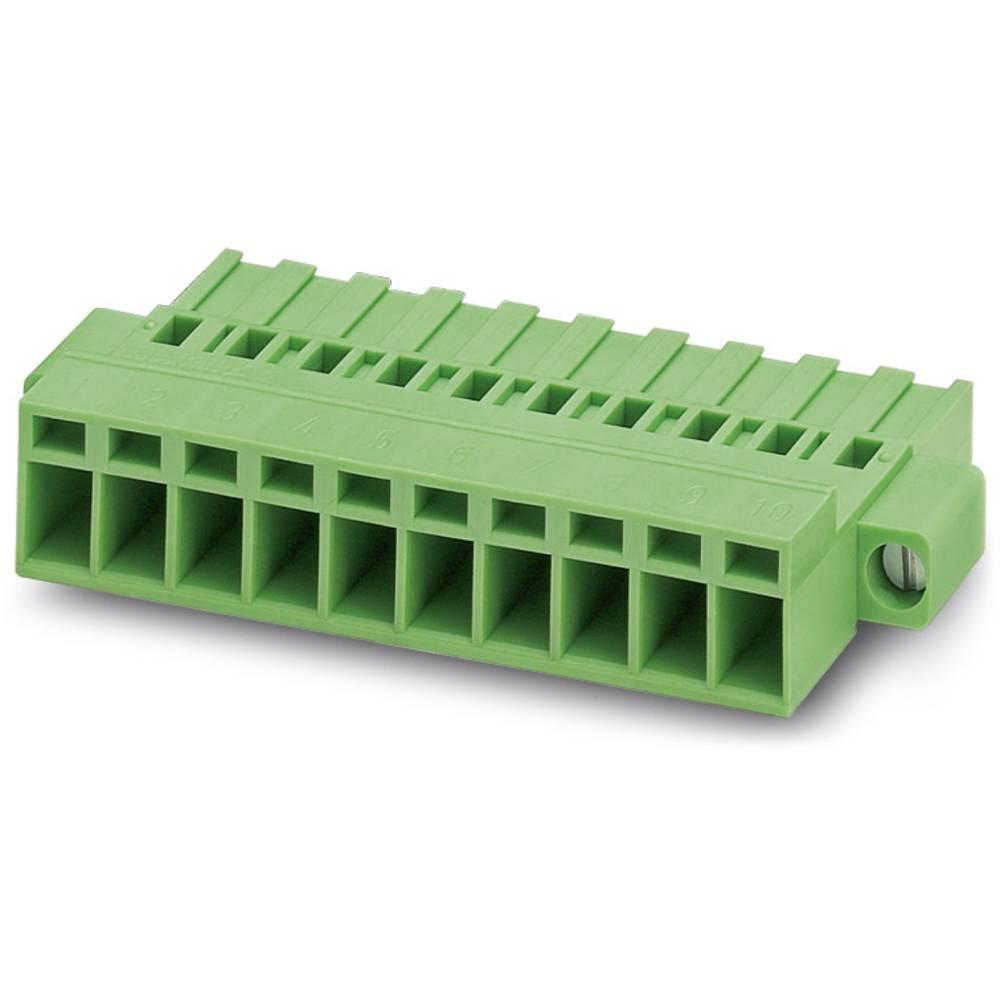 Tilslutningskabinet-kabel MSTBC (value.1361047) Samlet antal poler 2 Phoenix Contact 1809734 Rastermål: 5.08 mm 50 stk