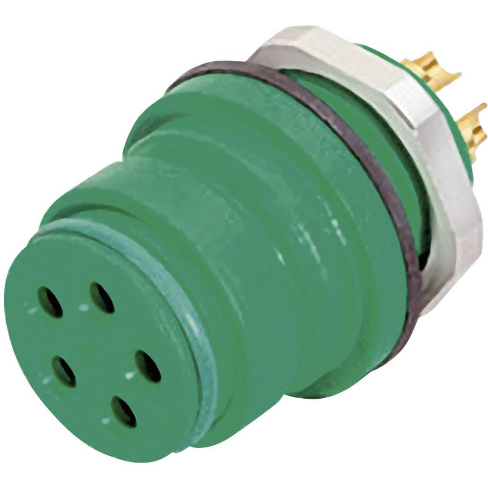 Mini okrogli konektor z barvno oznako Binder serije 720, 99-9128-70-08, 2 A, poli: 8