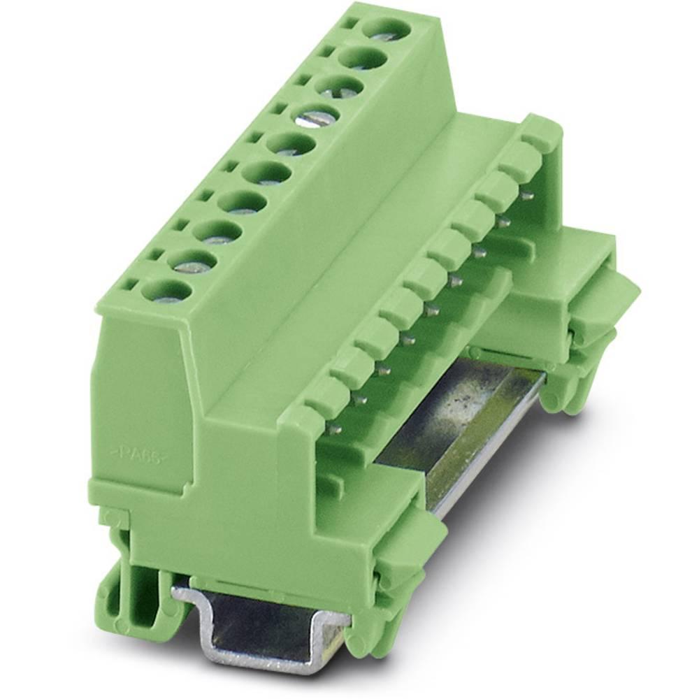 Tilslutningskabinet-kabel MC (value.1360607) Samlet antal poler 8 Phoenix Contact 1765159 Rastermål: 3.81 mm 50 stk
