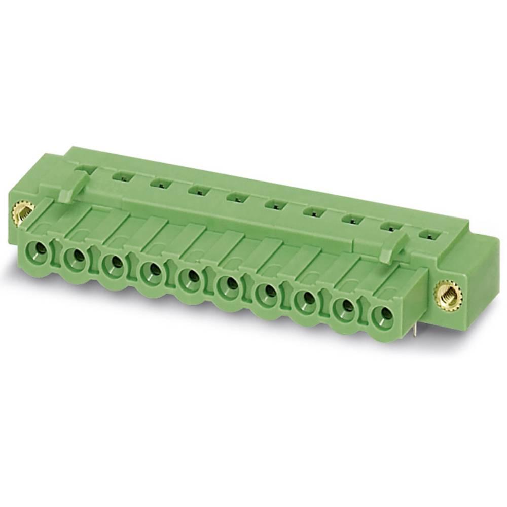 Tilslutningskabinet-kabel IC (value.1360933) Samlet antal poler 8 Phoenix Contact 1825187 Rastermål: 5.08 mm 50 stk