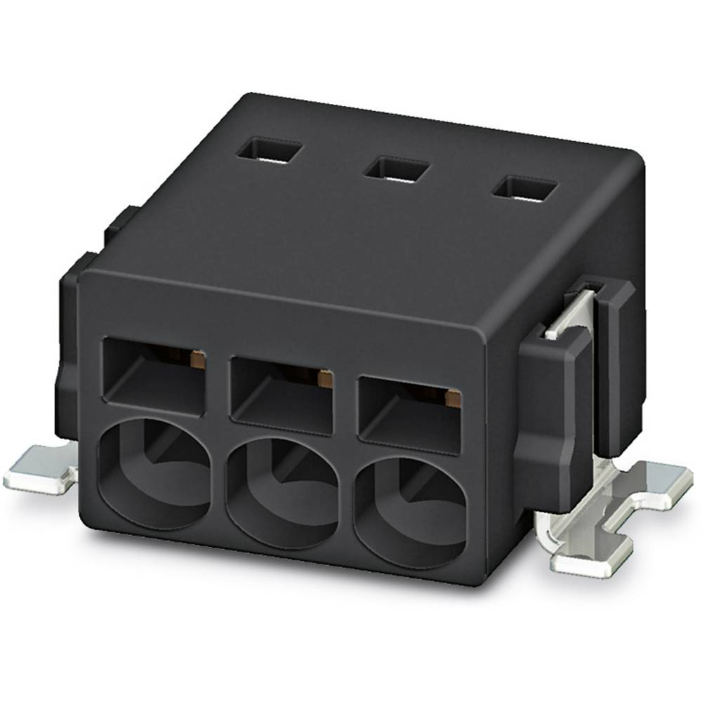 Fjederkraftsklemmeblok Phoenix Contact PTSM 0,5/ 2-2,5-H SMD R24 0.50 mm² Poltal 2 Sort 770 stk