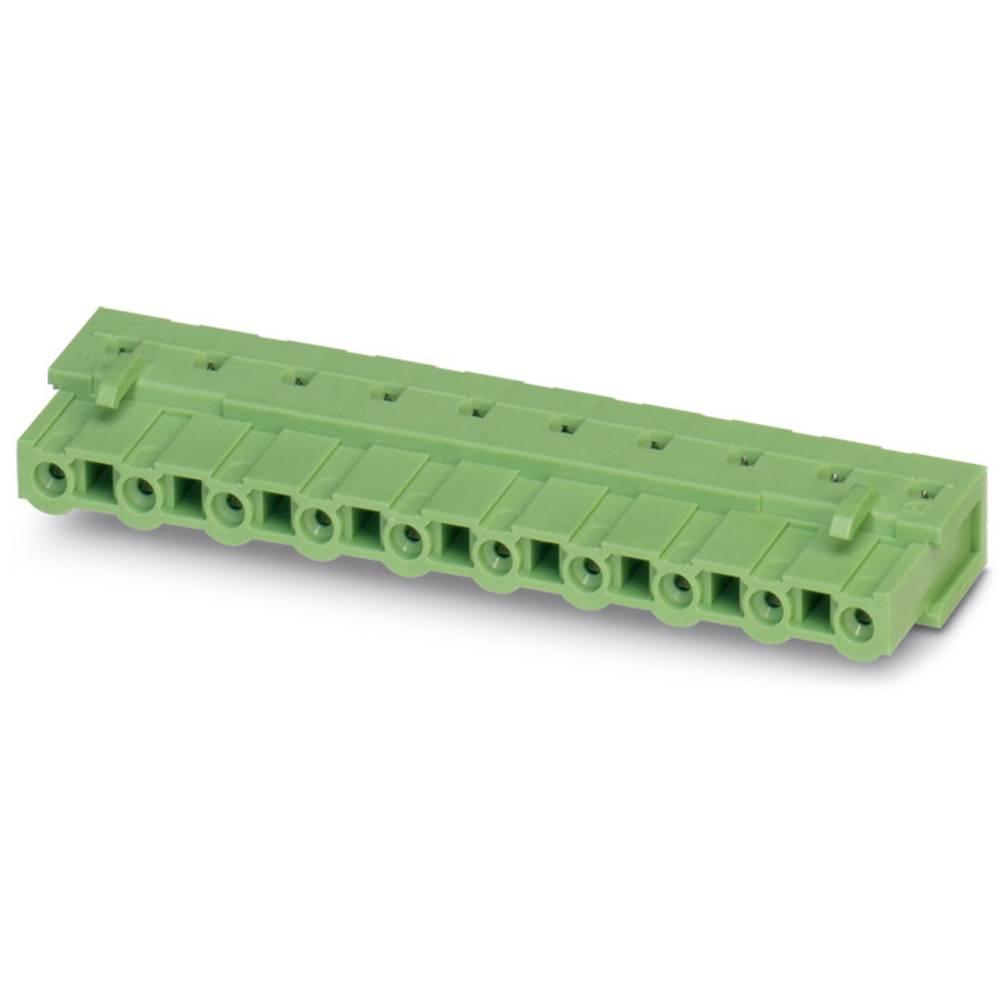 Tilslutningskabinet-printplade GIC (value.1360820) Samlet antal poler 8 Phoenix Contact 1828731 Rastermål: 7.62 mm 50 stk