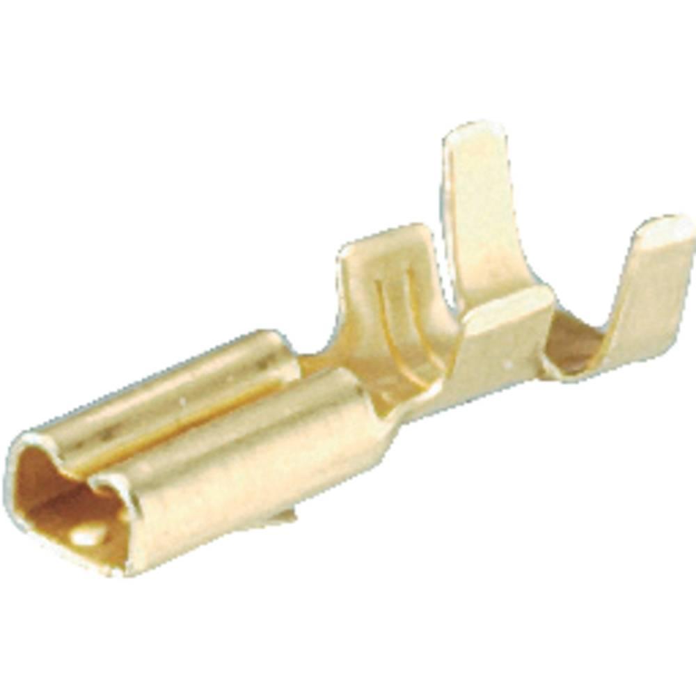 Fladstik-kabelsko Schlegel FH2,8 2.8 mm 0.8 mm 180 ° Uisoleret Metal 1 stk