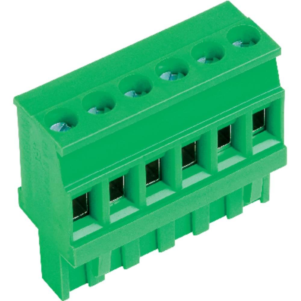 Tilslutningskabinet-kabel AK(Z)1100 Samlet antal poler 4 PTR 51100040001E Rastermål: 5.08 mm 1 stk