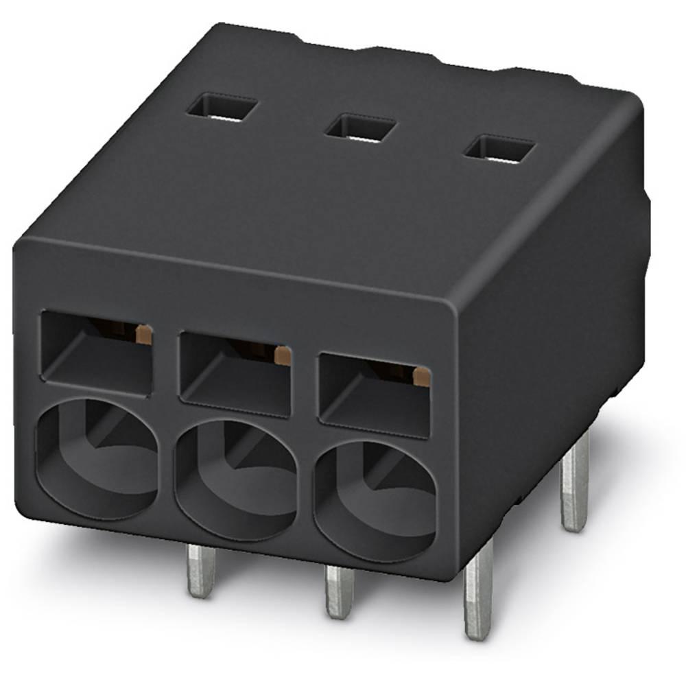 Fjederkraftsklemmeblok Phoenix Contact PTSM 0,5/ 3-2,5-H THR R32 0.50 mm² Poltal 3 Sort 530 stk