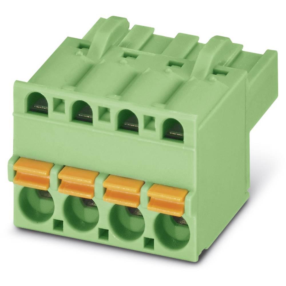 Tilslutningskabinet-kabel FKCT (value.1360973) Samlet antal poler 4 Phoenix Contact 1902136 Rastermål: 5.08 mm 100 stk