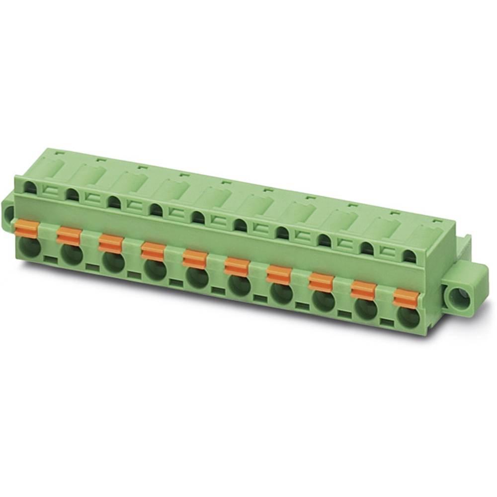 Tilslutningskabinet-kabel GFKC (value.1361113) Samlet antal poler 2 Phoenix Contact 1939743 Rastermål: 7.62 mm 50 stk