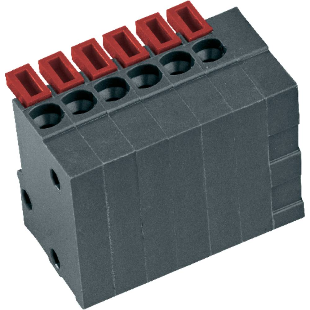Fjederkraftsklemmeblok PTR AKZ4791/8KD-2.54-V 0.75 mm² Poltal 8 Basaltgrå 1 stk