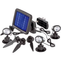 Solar-Spot (value.1291068) Renkforce Trio LED Kølig hvid Sort