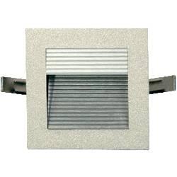 LED-indbygningslys Barthelme Ravenna 2.5 W Varm hvid Aluminium (børstet)