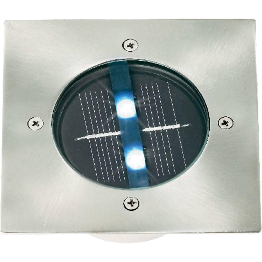 Solarni LED reflektor bela CE legirano jeklo