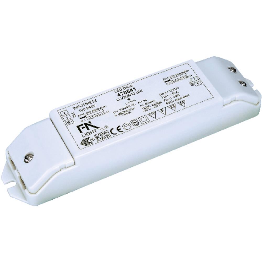 LED-napajač za dekorativnu rasvjetu SLV 470541, 20 W, 12V, bijela