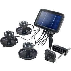 Solcells-spotlight Renkforce PL 133 LED Svart