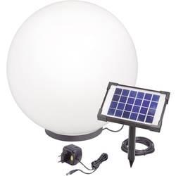 Solarna kugla Esotec kod pune baterije oko radi 15 h crna, bijela LED čvrsto ugrađena 106040