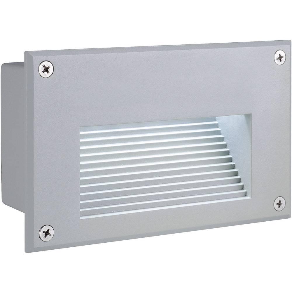 LED-Zunanja vgradna luč 1.4 W SLV 229702 srebrna-siva