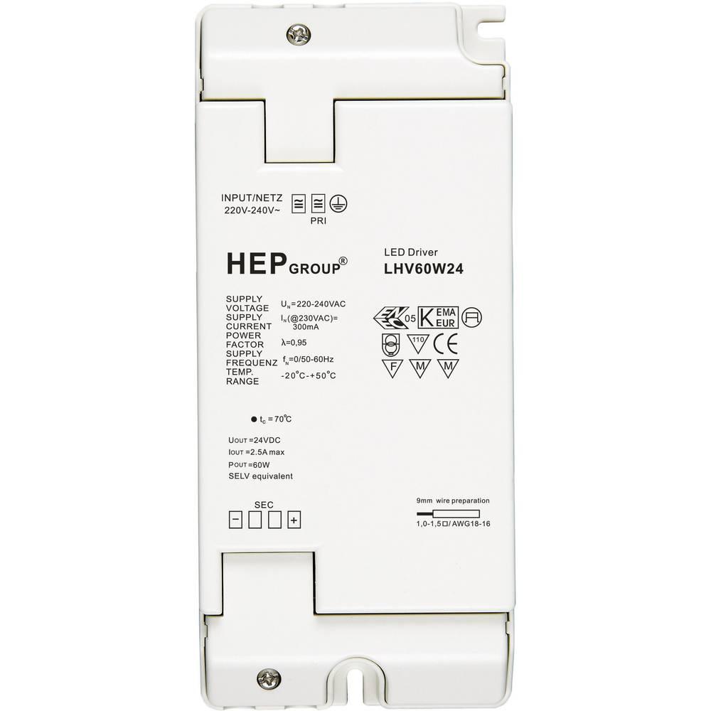 Dodatna oprema za dekorativnu rasvjetu LED napajač LHV60W24, 24 V, 60W,bijela