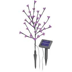 Solarna svjetiljka Pupoljci Esotec 102104 kod pune baterije maks. 10 h antracitna LED čvrsto ugrađena