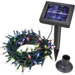 Solcellelyskæde Esotec 100 stk. LED Flerfarvet 12 m solcelle-drift