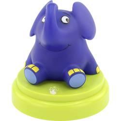 LED noćno svjetlo u obliku slona za dekorativnu rasvjetu Ansmann 1800-0017-510, plava