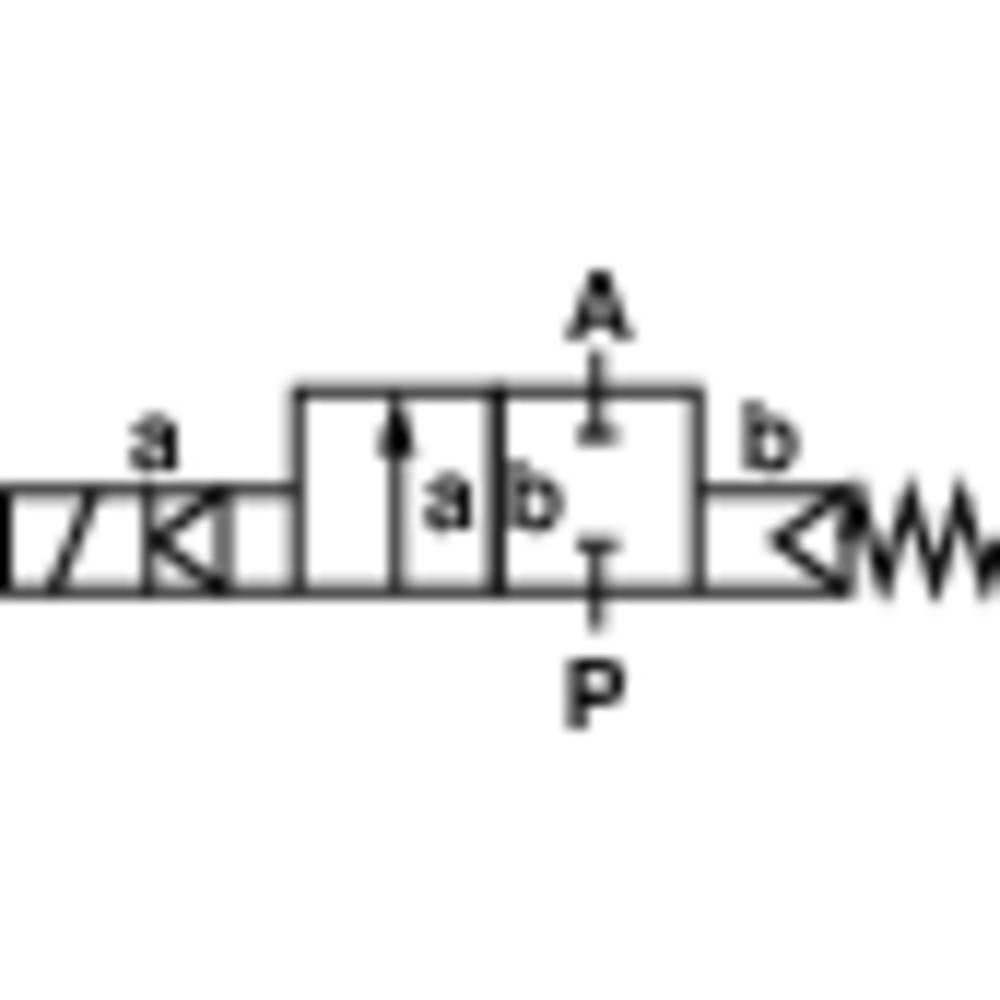 Busch Jost 8253100.8001.024002/2 Razvodni magnetni ventil 82530 24 V/DC priključak G3/8