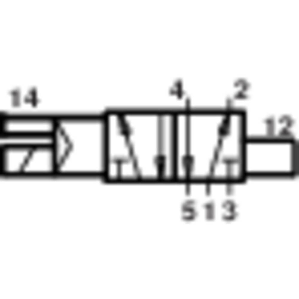 5/2-Razvodni magnetni ventil G1/4 VZMET Norgren V61B513A-A213L