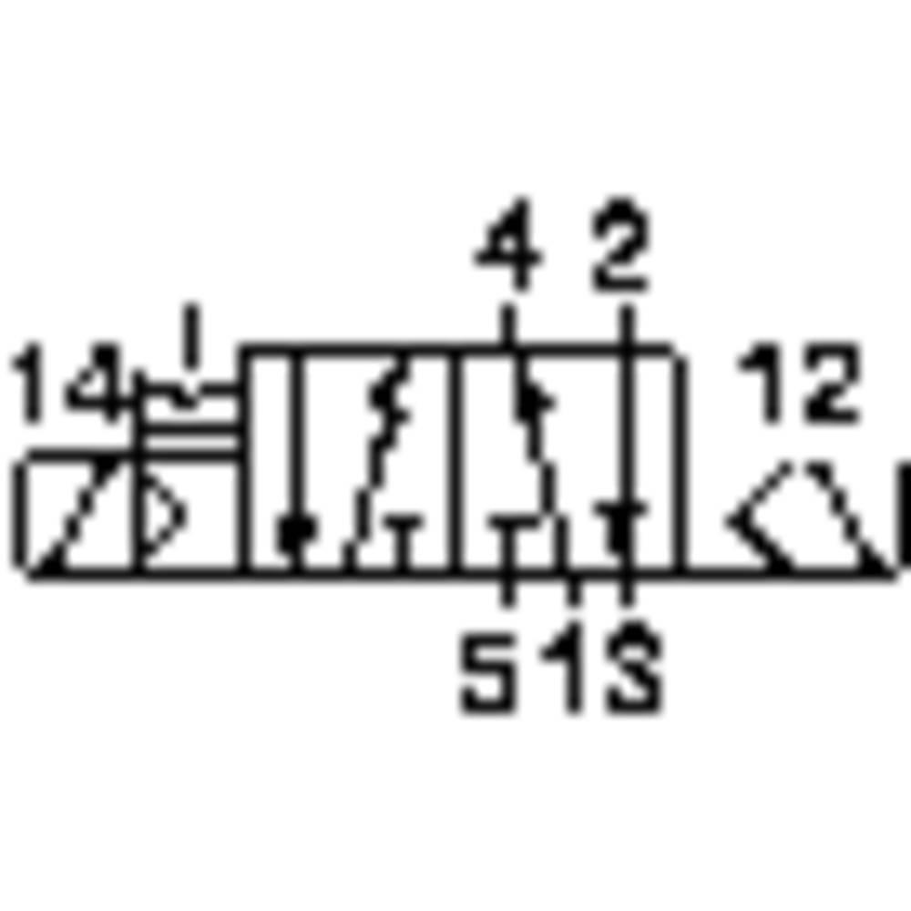 3/2- IN 5/2-Razvodni magnet ventila/VZMET IP65 24VDC Norgren 9710000305002400
