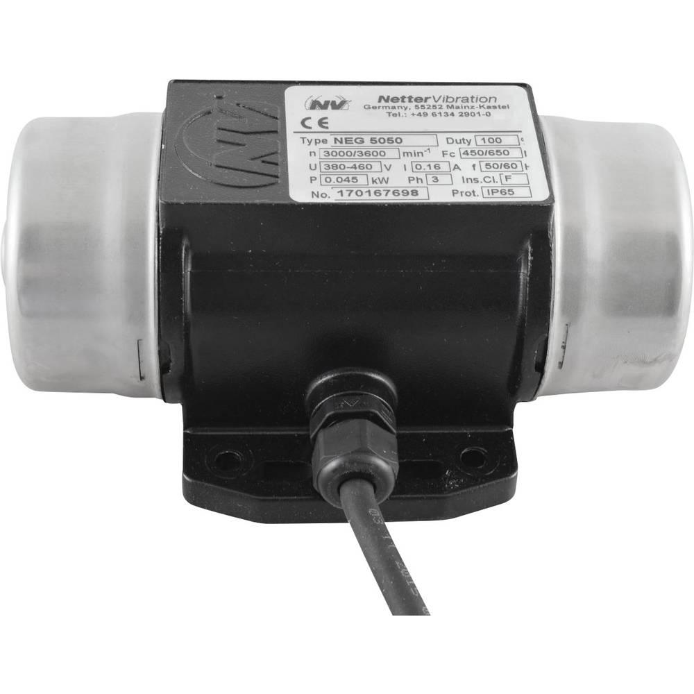 Netter Vibration NEG 5050 Elektro-vibrator, zunanji 400V, 3000 rpm