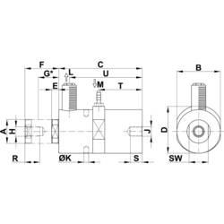 Kolvvibrator Netter Vibration NTK 15 x 2544 rpm 104 N 0.29 cm/kg