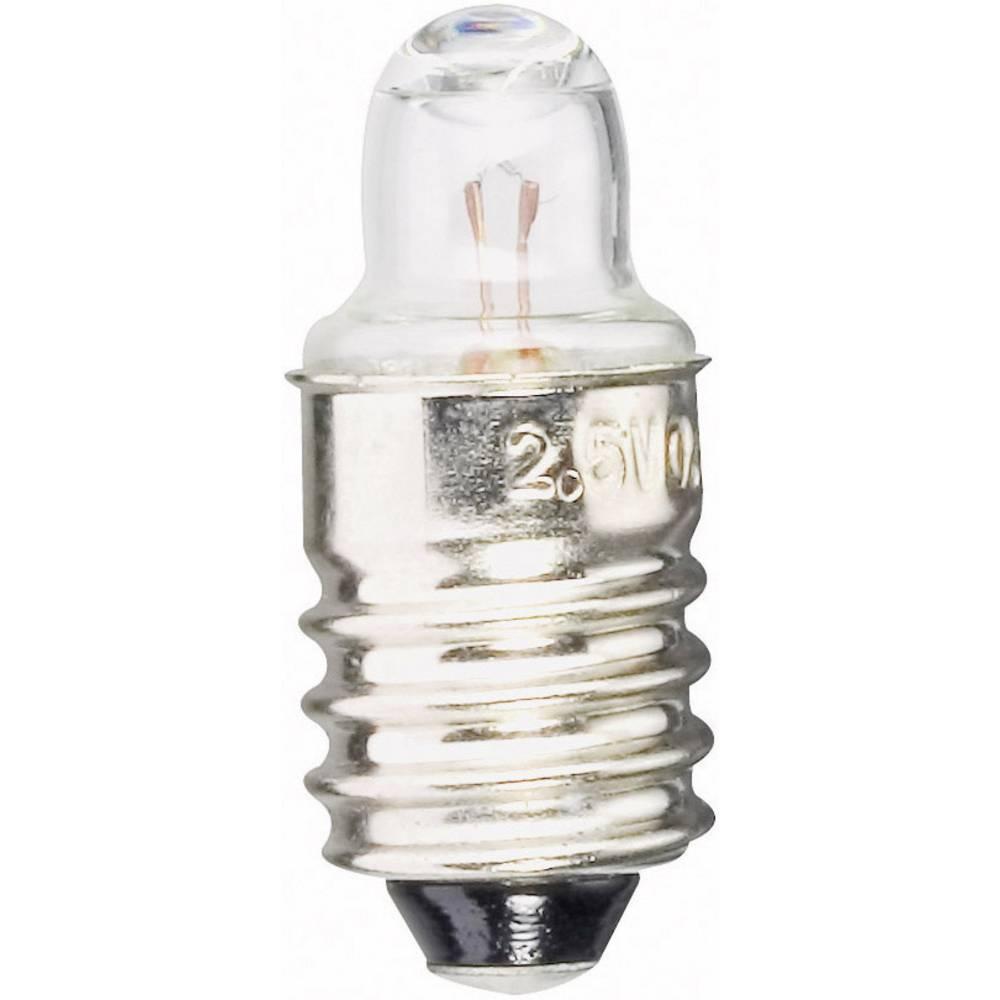 Nadomjesna žarulja za džepne svjetiljke 2.5 V 0.75 W 300 mA podnožak=E10 čista Barthelme 1 kom.