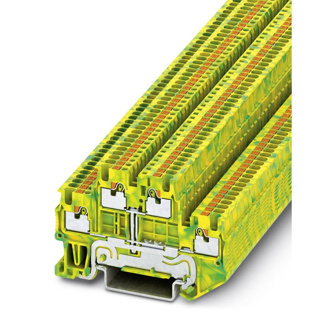 PTTB 1.5 / S-PE - beskyttelsesleder klemrække Phoenix Contact PTTB 1,5/S-PE Grøn-gul 50 stk