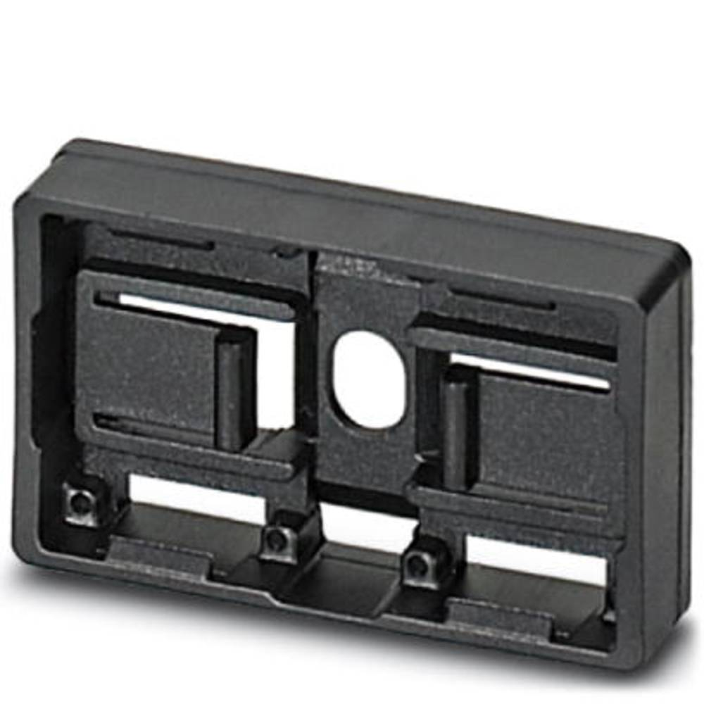 Označevalnik naprav, montaža: pripenjanje, površina: 49 x 15 mm primeren za serijo gumbi in stikala 22 mm črne barve Phoenix Con