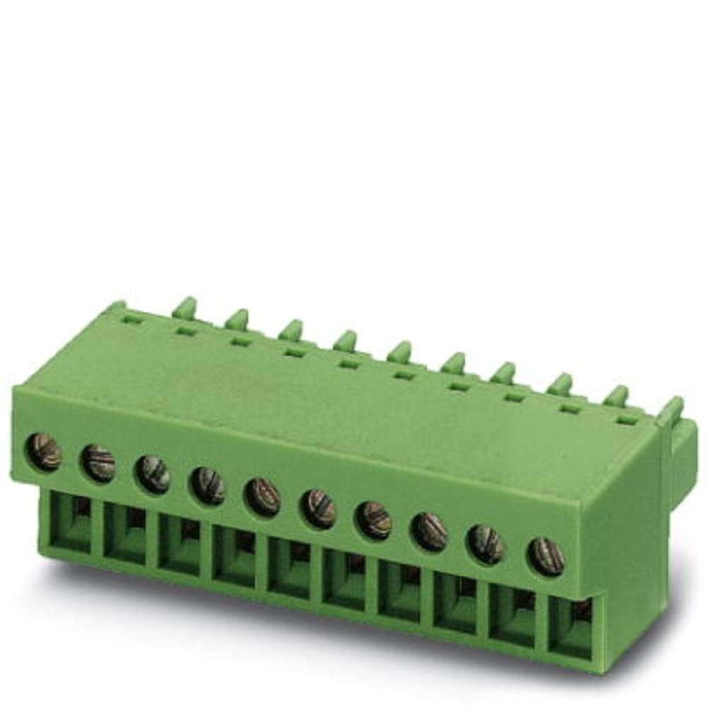 Tilslutningskabinet-kabel FRONT-MC (value.1361045) Samlet antal poler 4 Phoenix Contact 1850686 Rastermål: 3.81 mm 250 stk