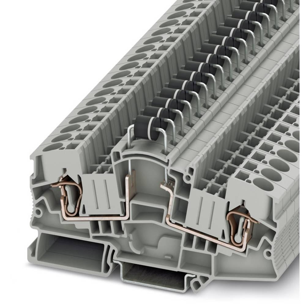Component terminal block STME 6-DIO/L-R HV Phoenix Contact STME 6-DIO/L-R HV Grå 50 stk