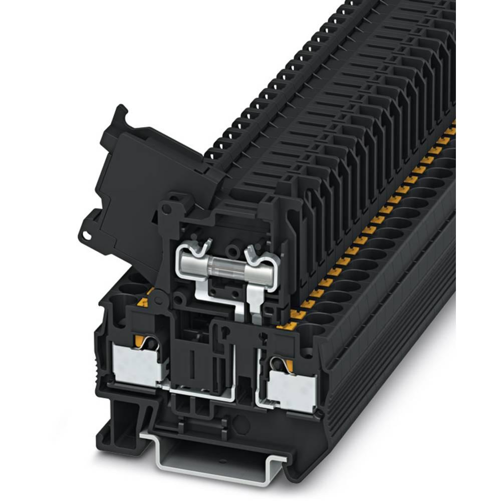 PT 4-Hesi (5X20) - fuse terminal Phoenix Contact PT 4-HESI (5X20) Sort 50 stk