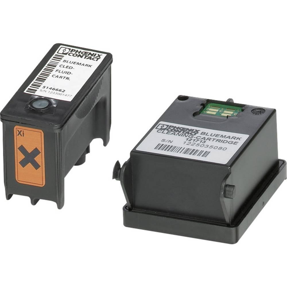 Blækpatron til Bluemark-printer Phoenix Contact BLUEMARK CLED-FLUID-CARTR. 5146662 1 stk