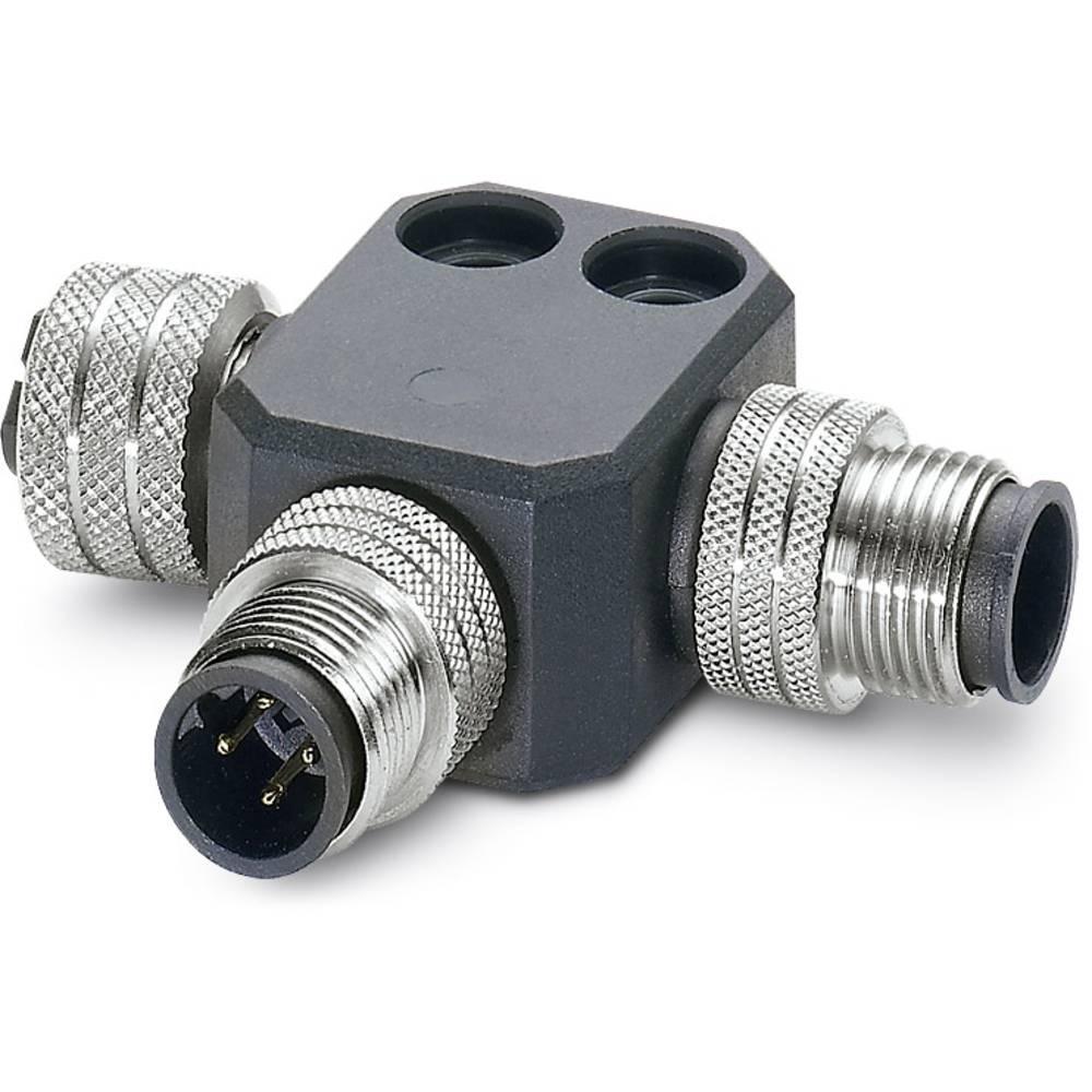 SAC-M12T/2XM12 PBDP - T-razdelilnik za bus sistem SAC-M12T/2XM12 PBDP Phoenix Contact vsebuje: 1 kos