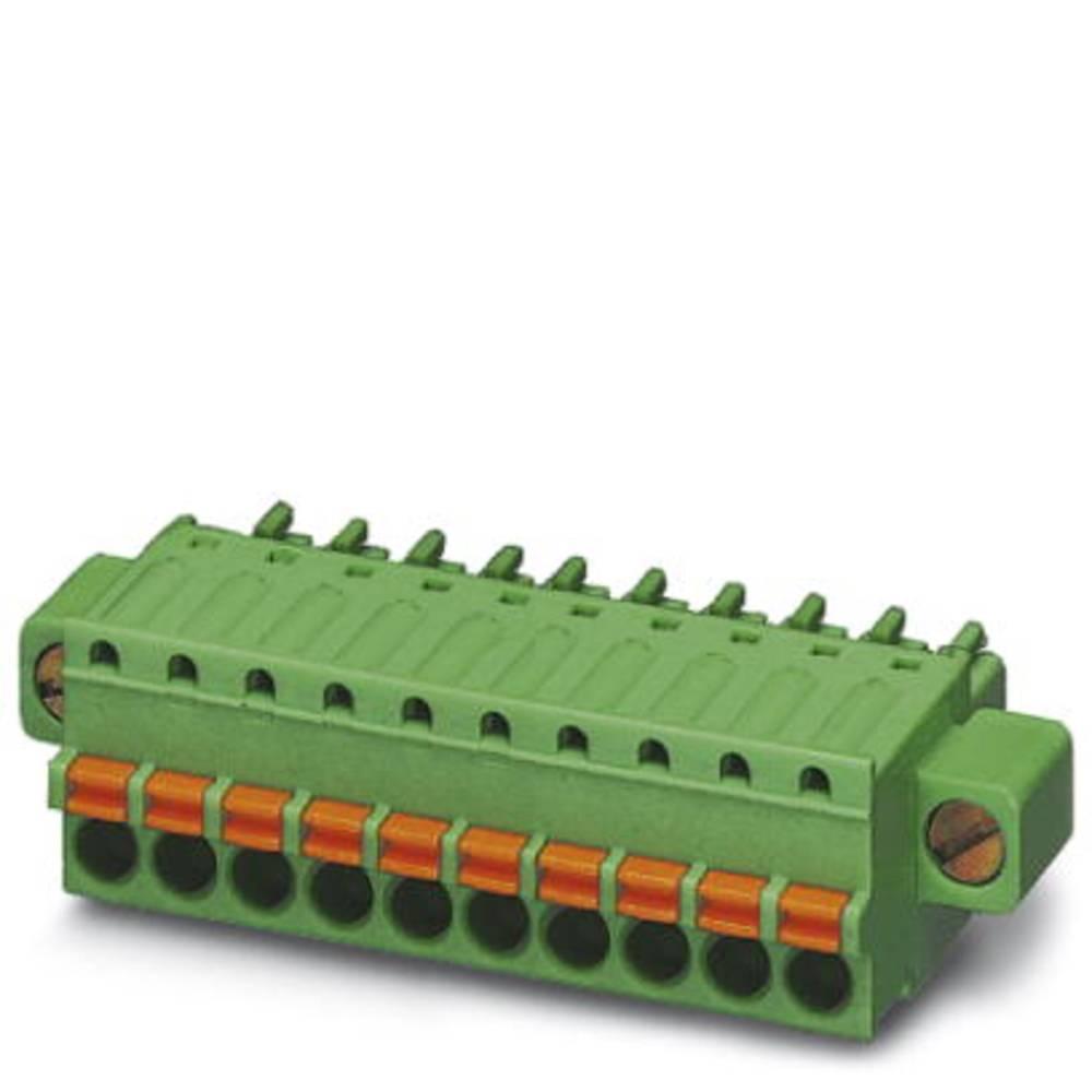 Tilslutningskabinet-kabel FK-MCP (value.1360756) Samlet antal poler 2 Phoenix Contact 1940091 Rastermål: 3.50 mm 50 stk
