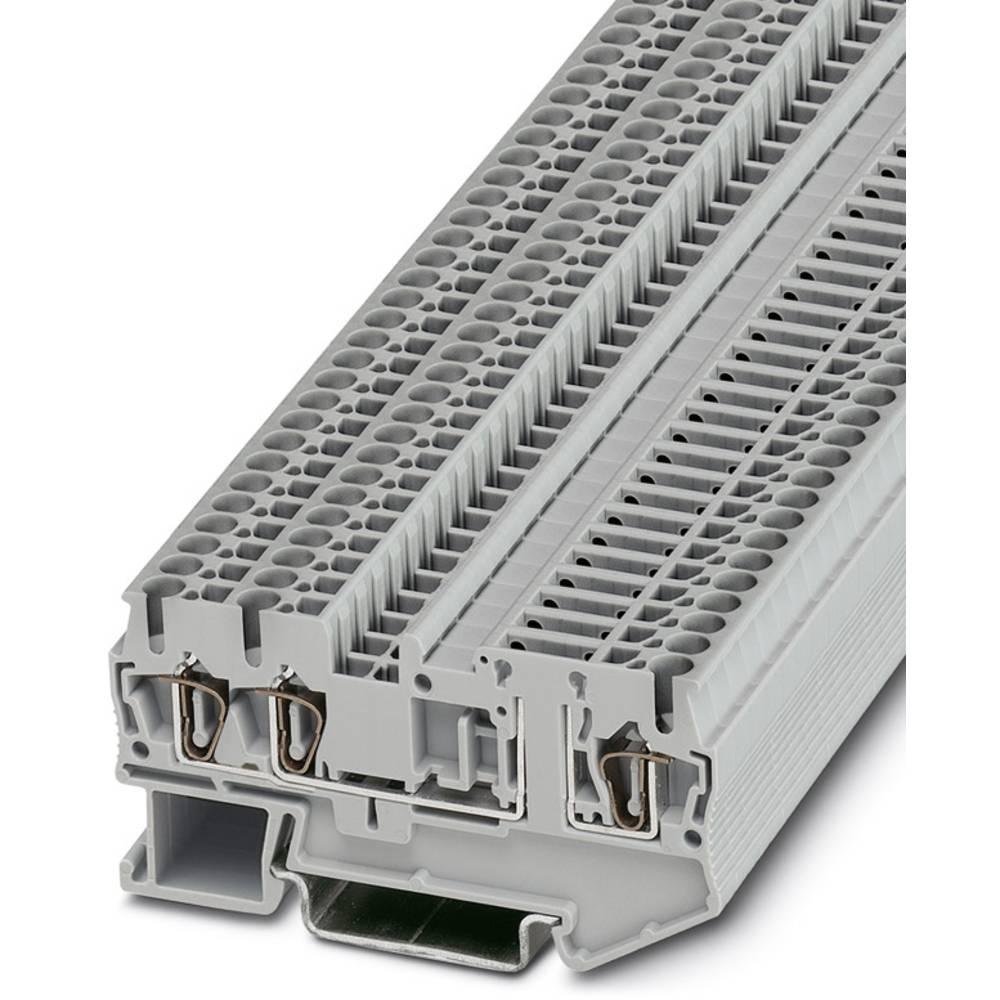 ST 2,5-TWIN-TG - komponent terminal Phoenix Contact ST 2,5-TWIN-TG Grå 50 stk