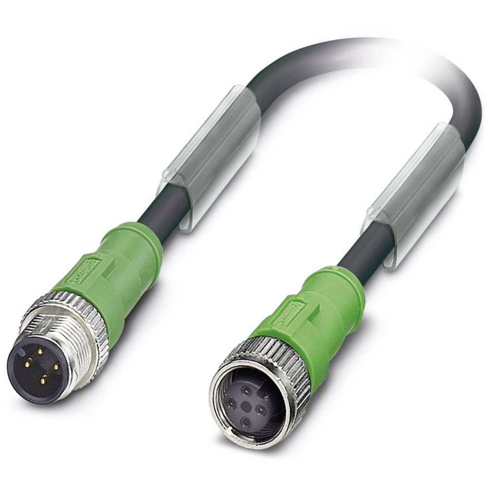 Sensor-, aktuator-stik, Phoenix Contact SAC-4P-M12MS/ 5,0-186/M12FS 1 stk