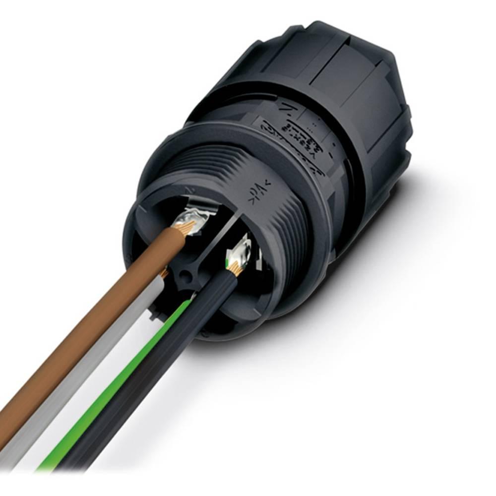QPD W 3PE2,5 9-14 M25 1,0 BK - Stenska vodila QPD W 3PE2,5 9-14 M25 1,0 BK Phoenix Contact vsebuje: 1 kos