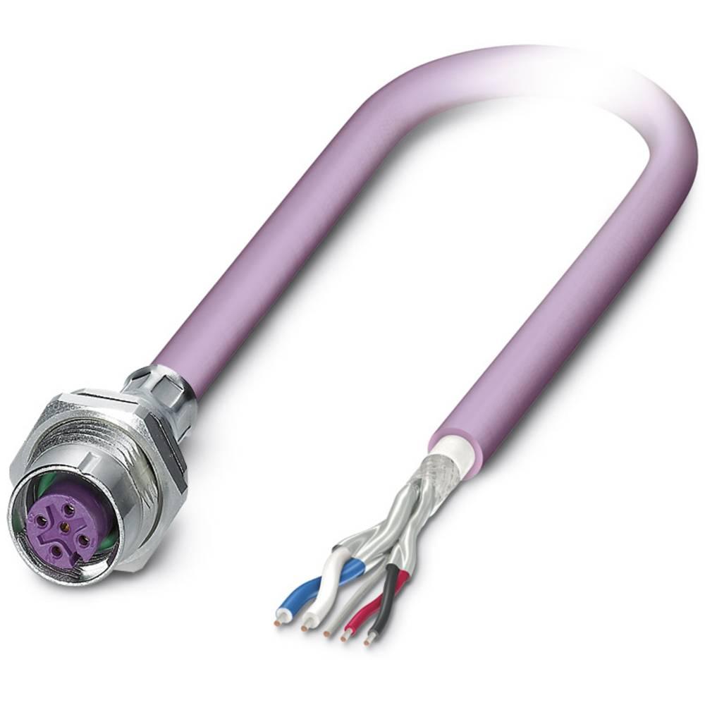 SACCBP-M12FS-5CON-M16/2,0-920 - S-bus-vgradni vtični konektor, SACCBP-M12FS-5CON-M16/2,0-920 Phoenix Contact vsebuje: 1 kos